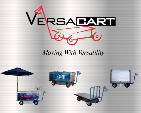 Battery Operated Moving Carts