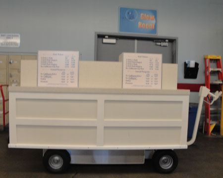 Battery Operated Long Bed Cart Sample