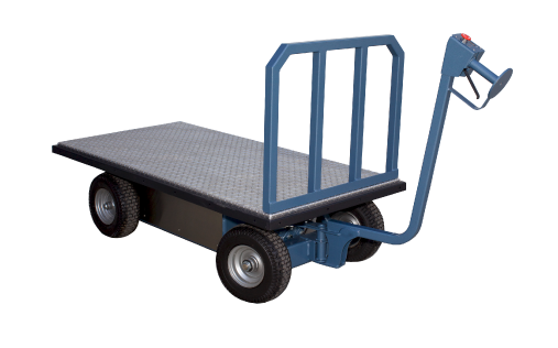 Battery Operated Flat Bed Moving Cart