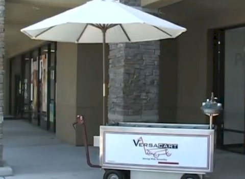 Versacart Beverage Cart